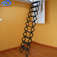 Straight ChainsTi-Ma alloy telescopic folding stairs