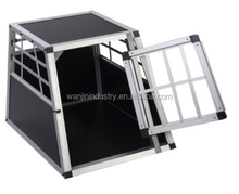 Big Single Aluminium Dog Cage Crate Travel Carrier Box
