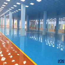 Factory high quality Concret floor paint Anti slip warehouse epoxy resin flooring garment factory coating