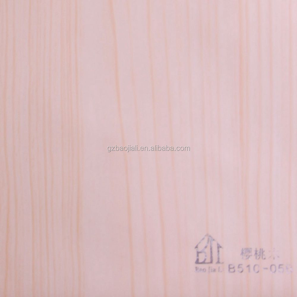 High quality self adhesive wood grain pvc film decorate
