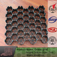 High Quality black gravel grid For Gravel