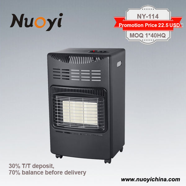 2017 new fashion ce approved promotion price electrical vented gas heaters for home appliance