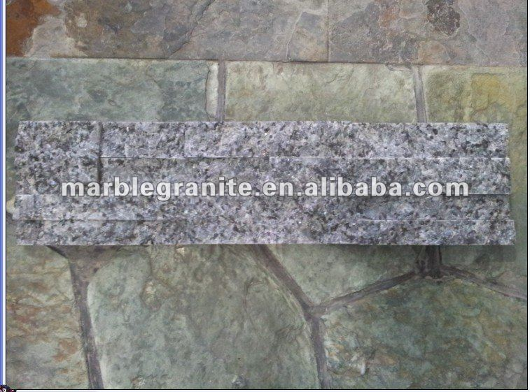 Dark Blue Pearls Cultured Stone For Wall Cladding Panel