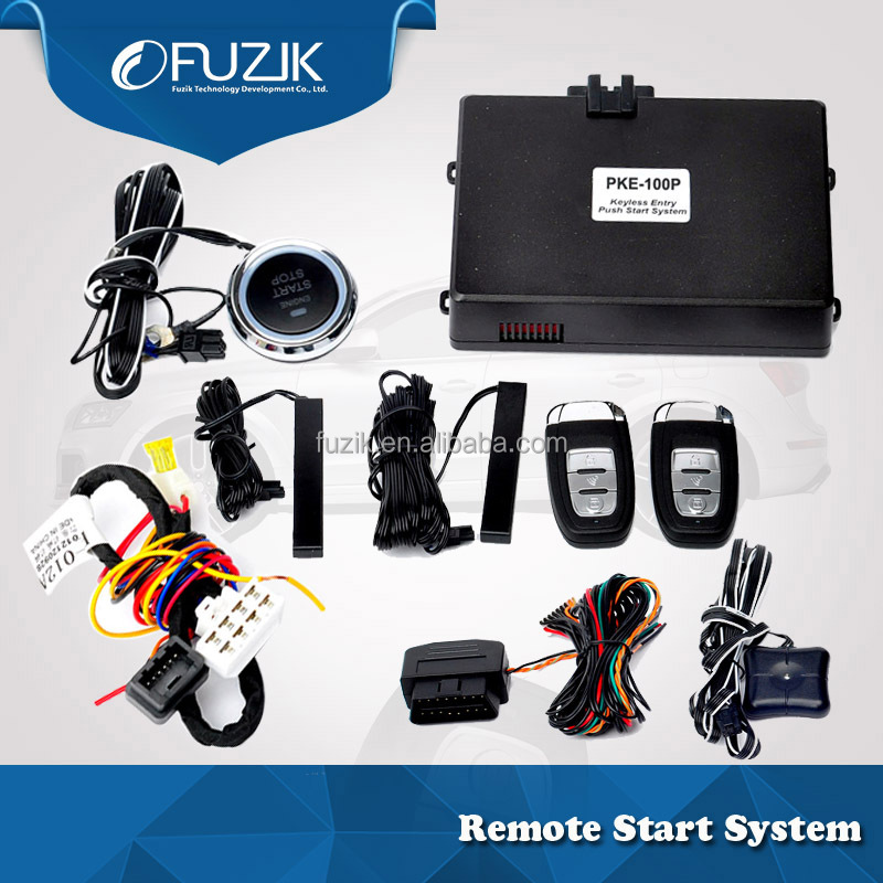 Strt / stop by key remote control, passive keyless entry and push button start/stop remote engine for Hyundai Tucson