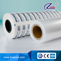 grid adhesive coated paper for medical use sterilization packaging material for syringe infusion set
