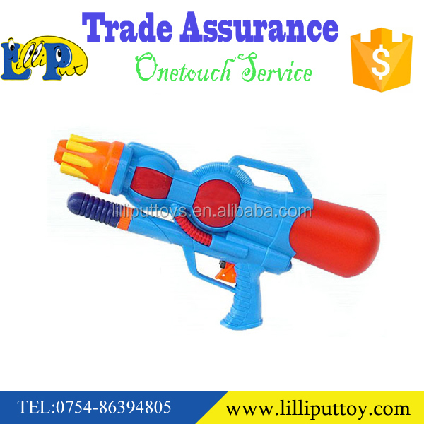 "New Summer toy water gun backpack water gun 14.8"" Plastic water gun with backpack"