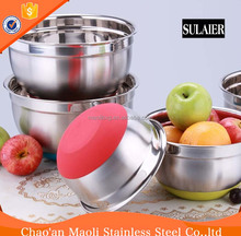 High Quality Thickening Stainless Steel Wholesale Mixing Bowl