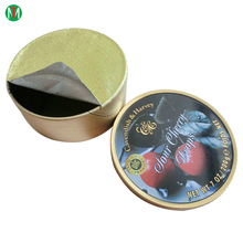 Eco-friendly pre cut Heat Seal Aluminum Foil Lids for Coffee Capsule cup