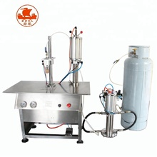 Semi automatic Polyurethane Aerosol Filling Machine/full Automatic Polyurethane Aerosol Filling Machine