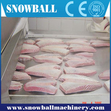 CE approved shrimp fast freezing machine/seafood iqf quick freezer/tunnel freezer