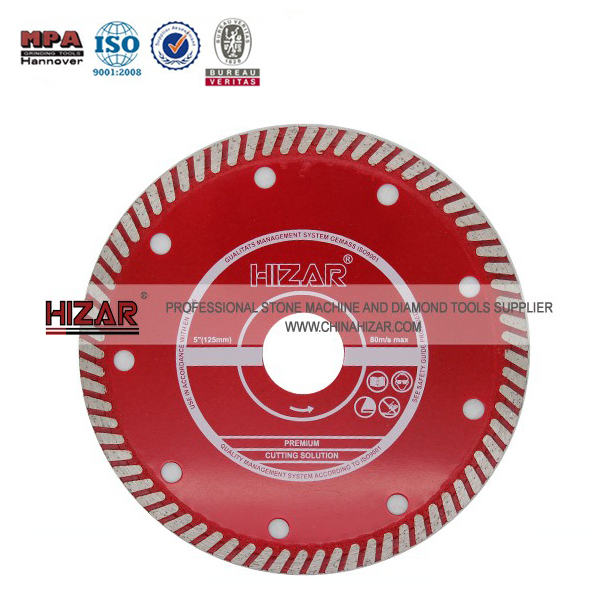 Granite/Marble Diamond Turbo Saw Blade/Granite Cutting Blade