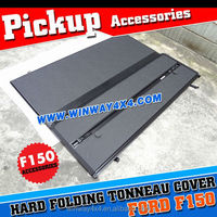 Hard Folding Tonneau Cover For Ford F150 2004+