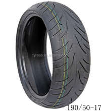 top quality China motorcycle tyre /tyre 190/50-17TL