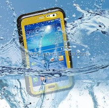Wholesale waterproof protective case for Samsung Note 2 N7100