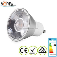 Top quality mr16 gu10 cob led spotlight gu10 led spotlight 10/20degree beam angle with factory cost price