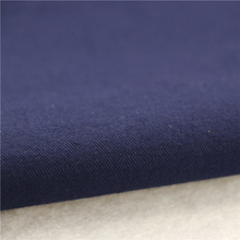 21x21+70D/140x74 264gsm 144cm deep sea blue double cotton stretch twill 2/2S stretch cotton twill dyed 100 cotton fabric