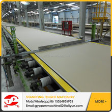 Gypsum ceiling board making machine 595x595,600x600,603x603 with reasonable price
