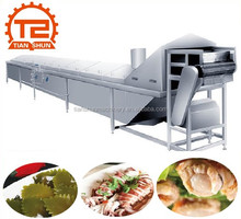 Steam Heated Conveyor Continuous Blanching Machine