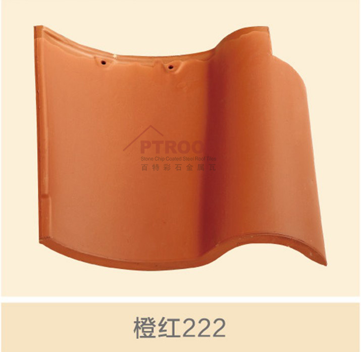 Hot sale cheap price spanish clay curved roof tile