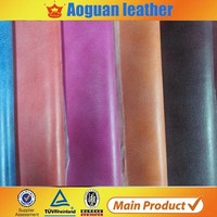 Textiles Leather Product Pu Suede Leather