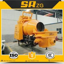 Economic best selling diesel concrete mixer and pump