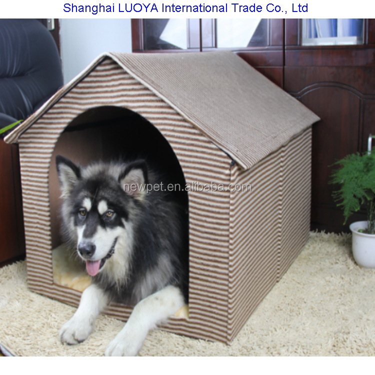 Many styles latest design detachable dog cave cat carrier hard cardboard dog house box