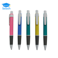 2016 stationery Multi-color plastic pen promotional ballpoint pen with logo office&school pen