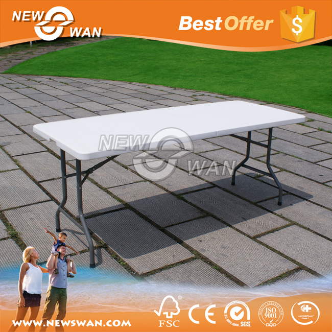8ft Folding Table / Cheap Rectangle Folding Table