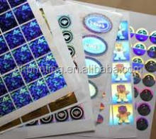 High Quality 3D Sticker Hologram
