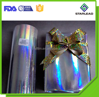 metallized holo imaging film, silver embossed hologram film, aluminized laser film