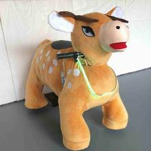 GM5916 Factory Supply Plush Animal Rides/Riding AnimalsToy /Motorized Animal Scooters For Sale
