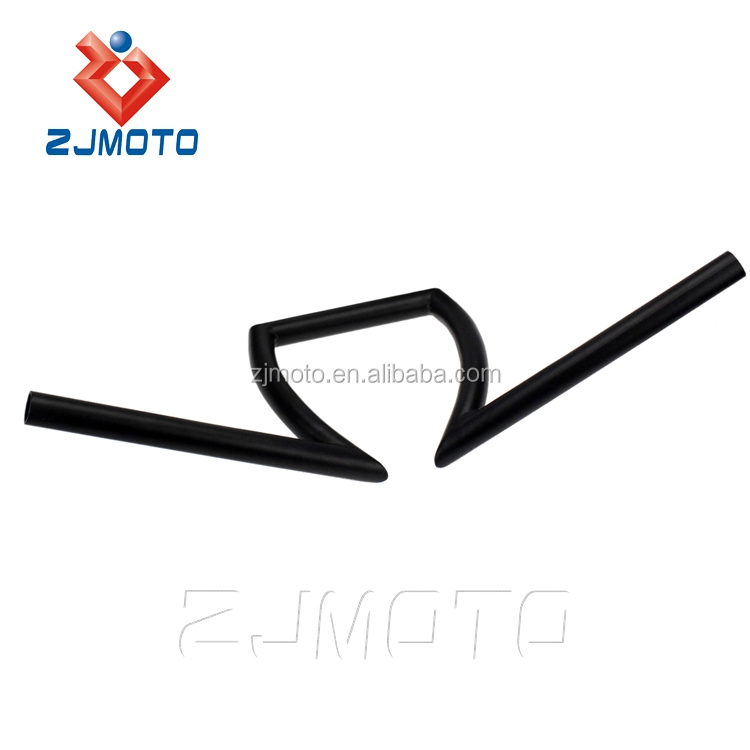 "Motorcycle 7/8"" Z Handlebar Drag Bars For Honda Yamaha Suzuki Chopper Bobber"