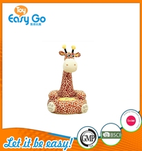 Cute Plush Giraffe Soft Stuffed Wild Animal Giraffe Toy Sofa for Gifts