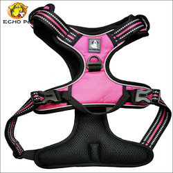 Dog Walking Harness, no-pull and Adjustable Enhanced Strength Dog Harness for
