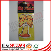2014 New car scent,unique paper car air freshener for advertising giveaway