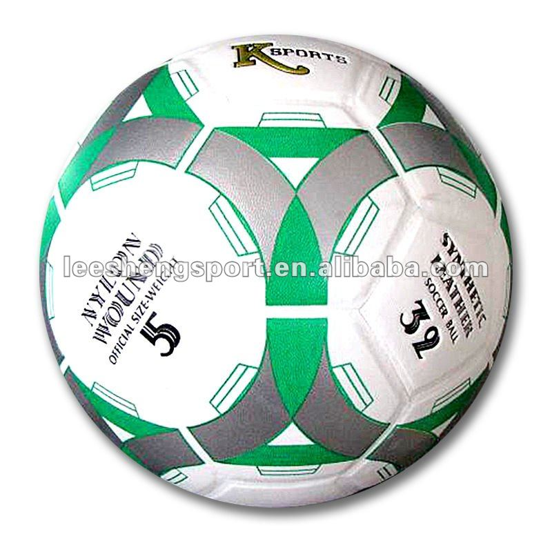 Lamination PVC football soccer ball