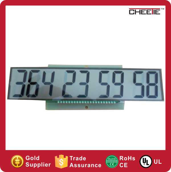 2016 Lcd Display Multimeter Mirror Glass Small Digital Clock TFT LCD Module