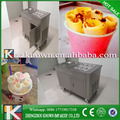 220V 50HZ best quality roll fry ice cream making machine with pedal contro