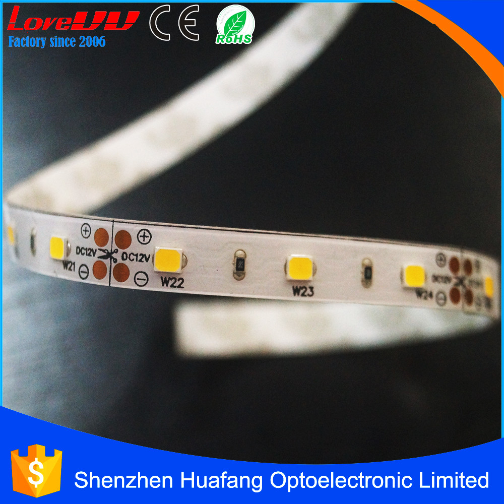 Spray silicone led strip light ribbon tape ip65 12v battery powered led strip light for the outdoor light