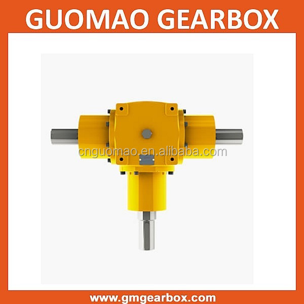 Long life bevel gear units types of steering gear box