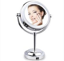 Hot Selling Professional Round Standing LED Light Make Up Cosmetic Mirror