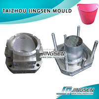 mold making,industrial parts,Good quality Plastic Crate / Basket injection mould
