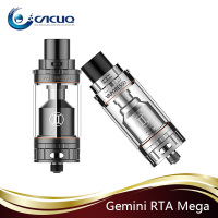 2016 New Released Vaporesso GEMINI RTA MEGA 4.5ml Dual Adjustable Airflow Structure Gemini Mega