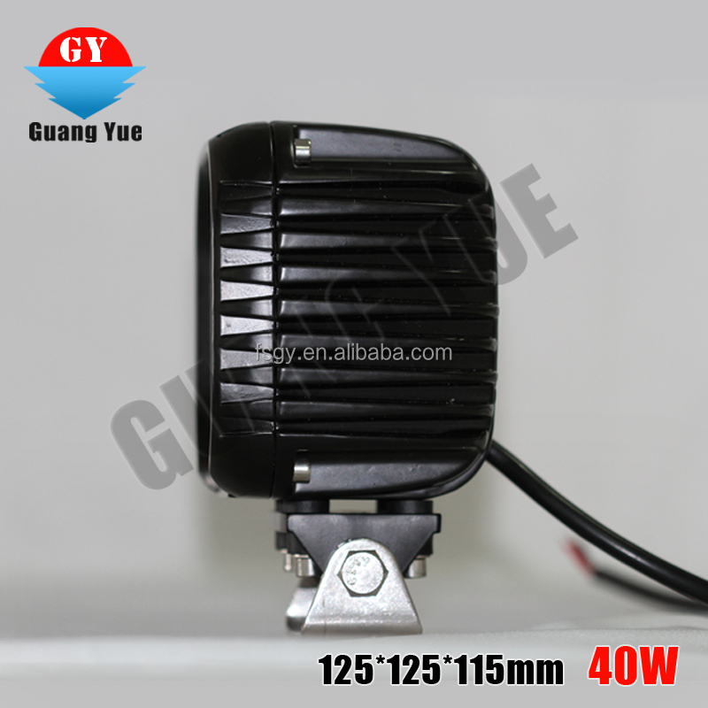 New led pods lights for cars atv suv CE RoHs 40w work LED light original factory