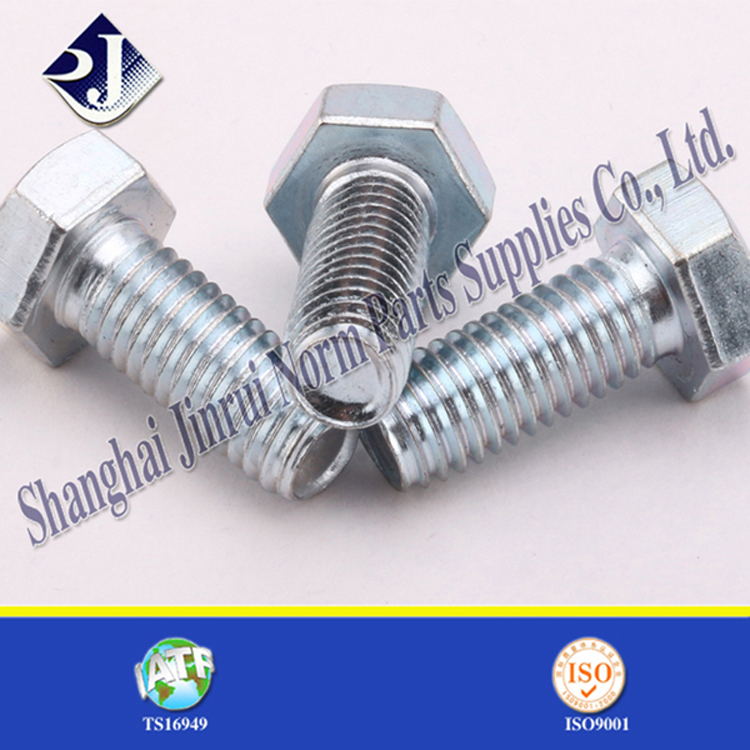 china norm part high tensile strength galvanized bolt price