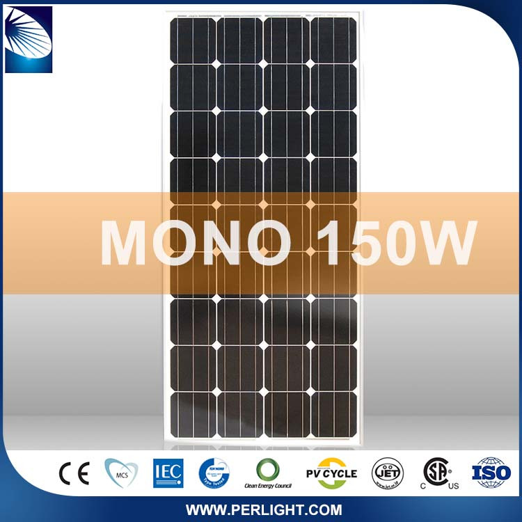 New Products 2016 Promotional first grade 150w mono pv solar panel modules