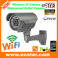Hot Selling!HD 960P Outdoor P2P Wireless wifi IP Camera Outdoor Bullet Wireless WiFi IP Camera with POE