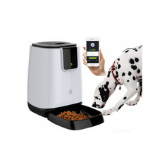 Wifi Connect Cell Phone APP Remote Operate Custom Pet Dog Auto Smart Pet Feeder,Dog Food Bowl