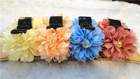 Effortless Beauty Flower Thick Hair Jaw Clips