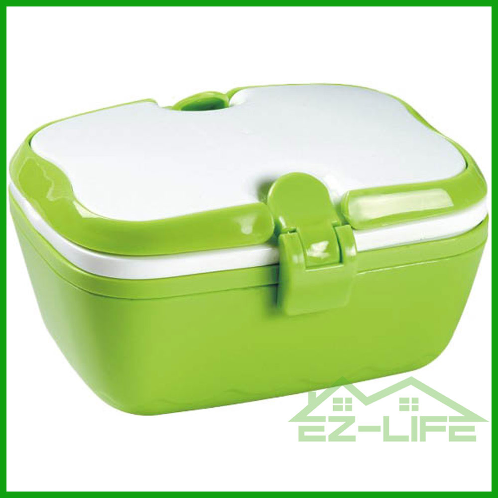 Promotional plastic lunch boxes with lock BPA free microwave safe ECO friendly